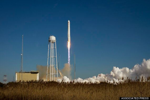 Orbital Sciences/NASA Antares Rocket Explosion: Reaction, Before-After And