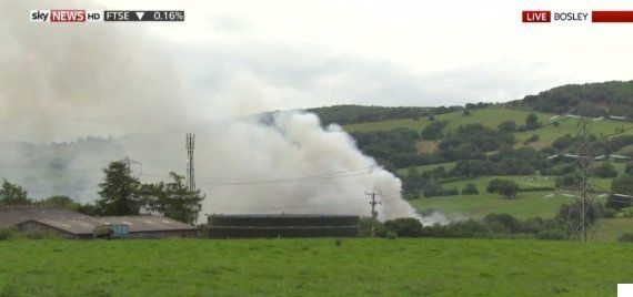 Cheshire, Bosley Explosions Trap Four In Mill Causing Multiple