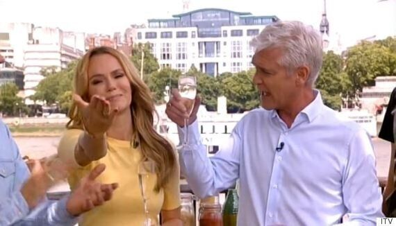 Amanda Holden Leaves 'This Morning', Hosting Emotional Final Show Ahead Of Holly Willoughby's
