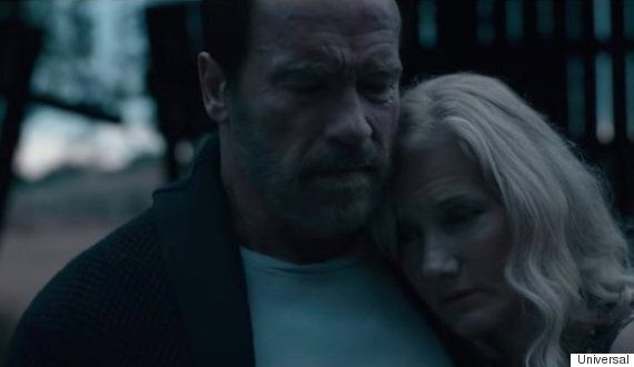 Arnold Schwarzenegger, Joely Richardson Behind The Scenes For Zombie Thriller 'Maggie'