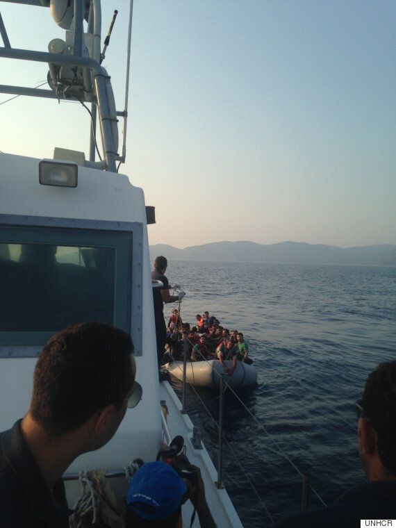 This Summer, Across the Greek Islands, Boats Filled With Refugees Are Nothing