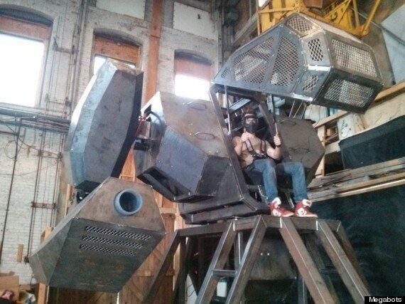 MegaBots: How One Startup Wants To Kickstart Its Way To A Real Robot Fighting