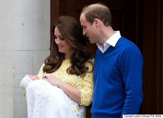 Princess Charlotte Meets Queen As Prince William Registers New Royal Baby's
