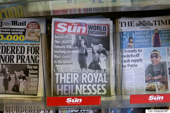 Queen Nazi Salute Footage May Actually Have Been Released By The Palace By