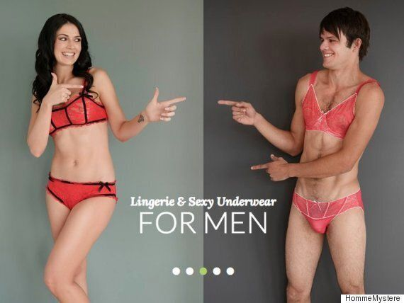 aa82931c3057b Sexy Lingerie For Men Is Now A Thing (Apparently) | HuffPost UK