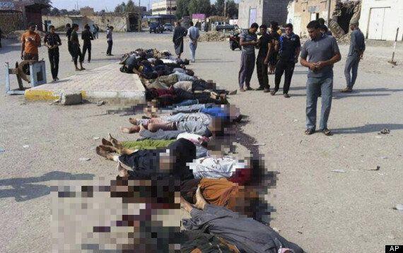 Islamic State Massacre 30 Men In Town Of Hit Near
