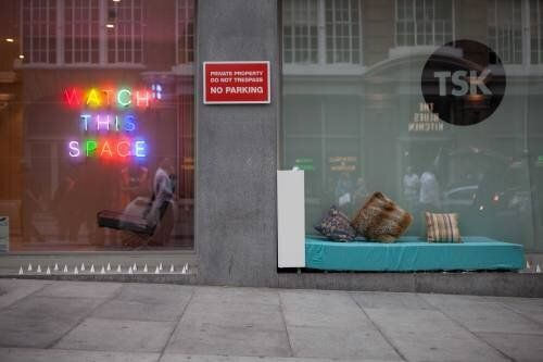 'Anti-Homeless Spikes' Turned Into Bed And Library By Protesters In