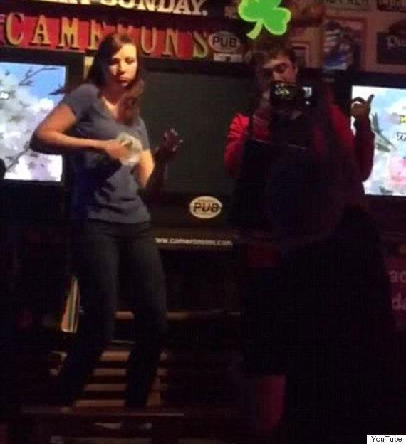 Daniel Radcliffe And Girlfriend Erin Darke Rap Along To Eminem's 'The Real Slim Shady' During Karaoke...