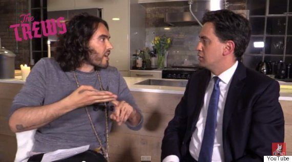 Russell Brand Decided To Back Labour Before Ed Miliband Interview, He