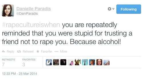 #RapeCultureIsWhen This Happens: Sexual Violence, Social Media and Prevention