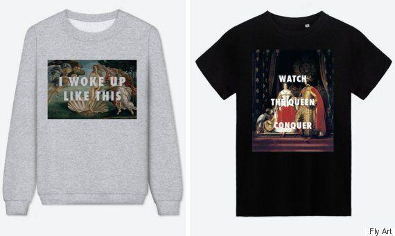 Hip Hop Lyrics On Classic Art Make For A Brilliant T-Shirt Design by Fly