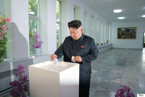 North Koreans 'Vote' In Local Elections... For Pre-Approved Candidates Selected By The