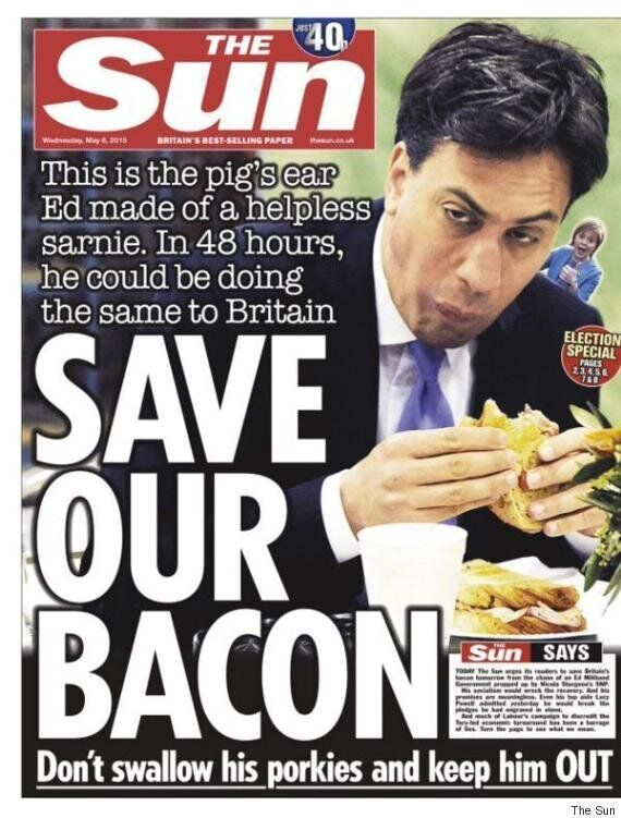 #JeSuisEd Trends As Ed Miliband Supporters Tweet Photos Of Themesleves Failing To