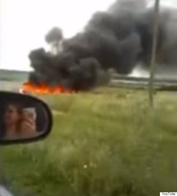 MH17 Video Shows Panic Of Couple Who Capture Horror Of 'Raining Bodies' Over