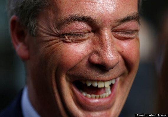 Nigel Farage Hits Back At 'Liberally Biased' Comedians After Frankie Boyle C***
