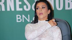 Watch Kim K's Book Signing Get Ambushed By