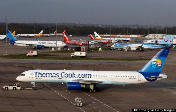 Thomas Cook Jet Forced To Return To Gatwick After Part Falls Off