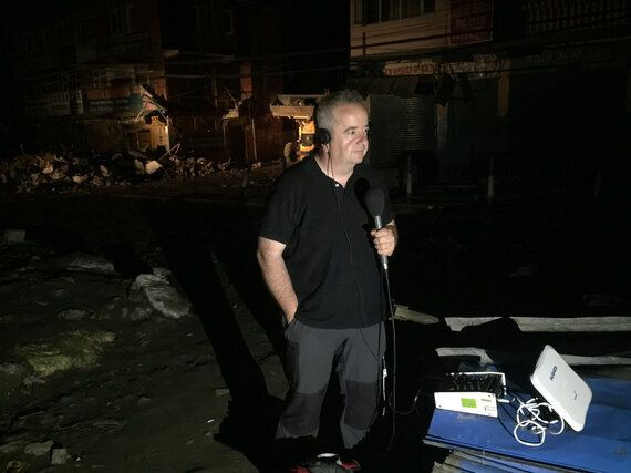 How I Reported the Horrors of the Nepal Earthquake on a
