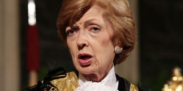 File photo dated 11/11/13 of Fiona Woolf who has announced her resignation yesterday as the head of the...