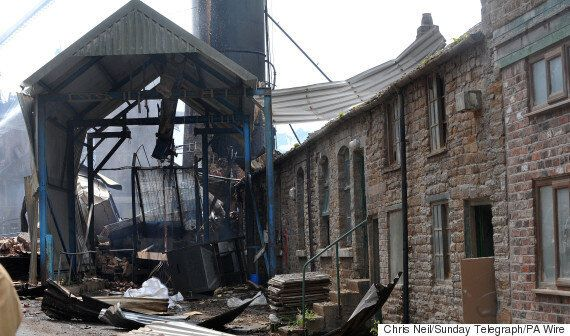 Bosley Mill Explosion: Second Body Recovered As Emergency Workers Search In 'Very Difficult