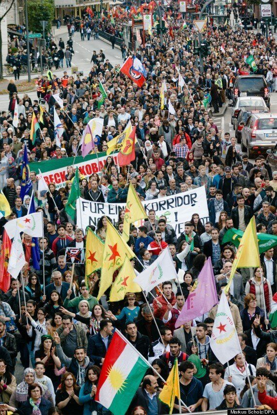 Global Day For Kobane Sends Islamic State A Powerful Message From The Streets Of