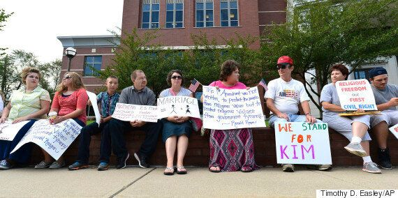 Kentucky Country Clerk Decided Not To Issue Same-Sex Marriage Licenses After 'Praying And