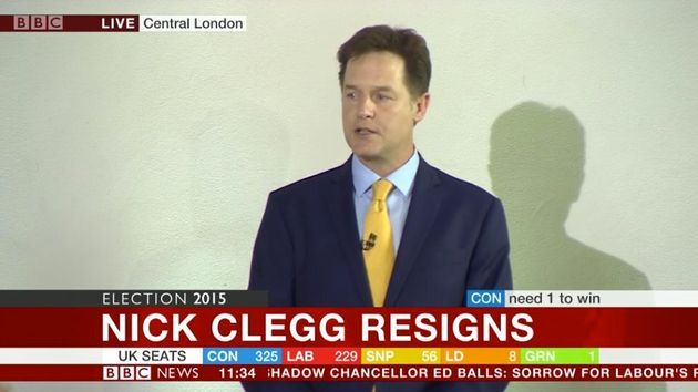 Nick Clegg Quits As Lib Dem Leader Following Election Result Horror For