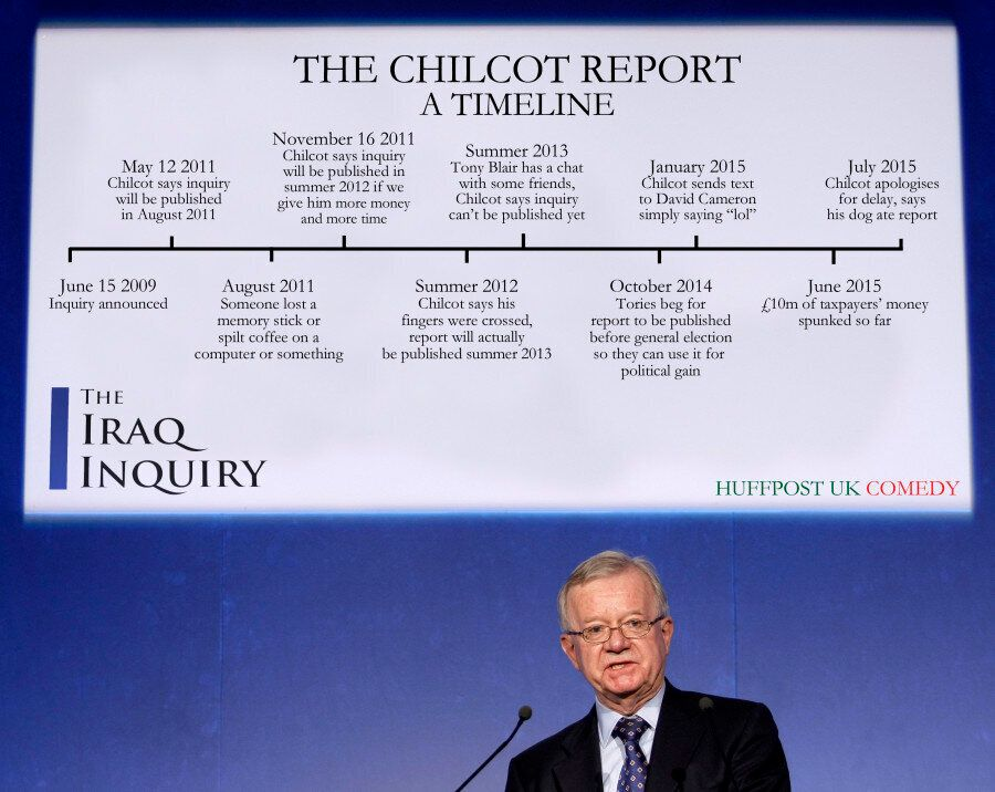 Iraq Inquiry: A Timeline Of The Chilcot
