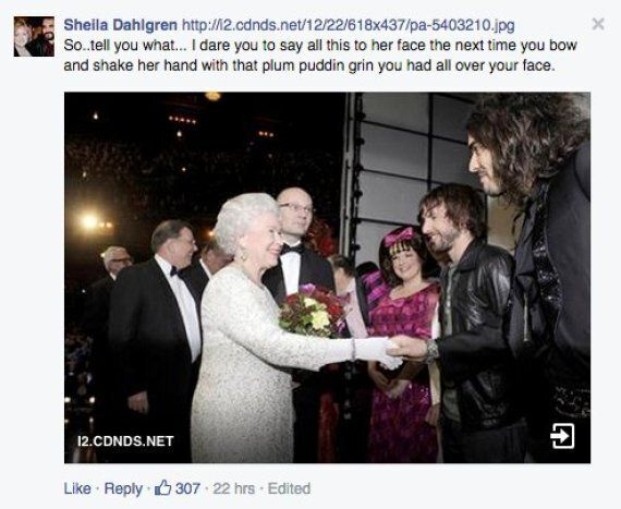 Russell Brand Calls The Queen A Nazi... People Are
