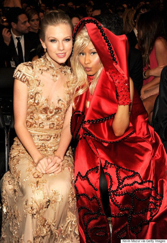 Taylor Swift Invites Nicki Minaj To Join Her On Stage After Blasting The Rapper On Twitter For 'Pitting...