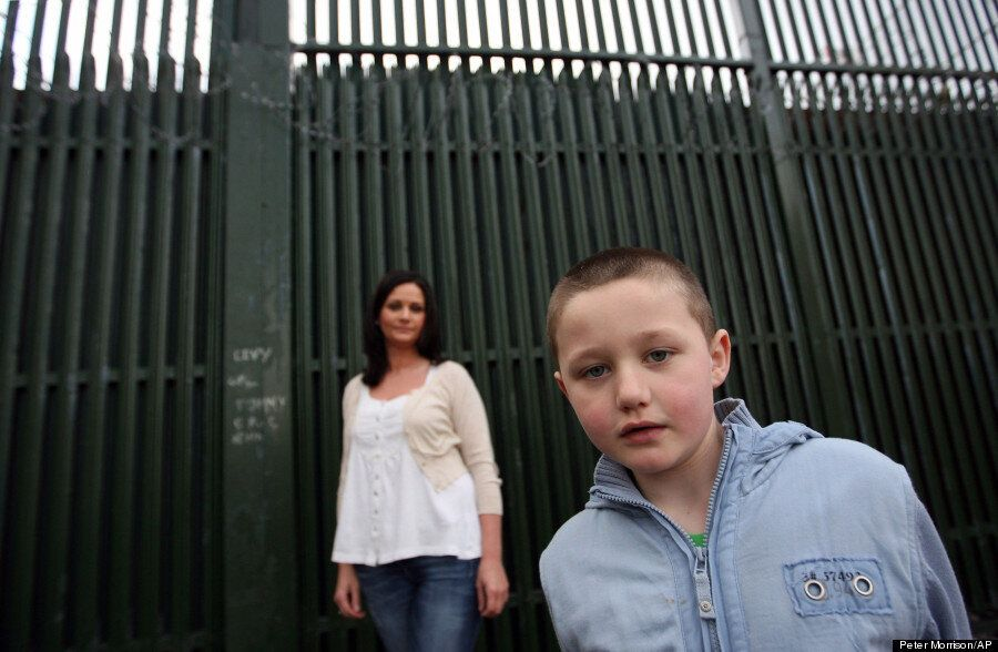 Why Northern Ireland's 'Peace Walls' Show No Signs Of Following