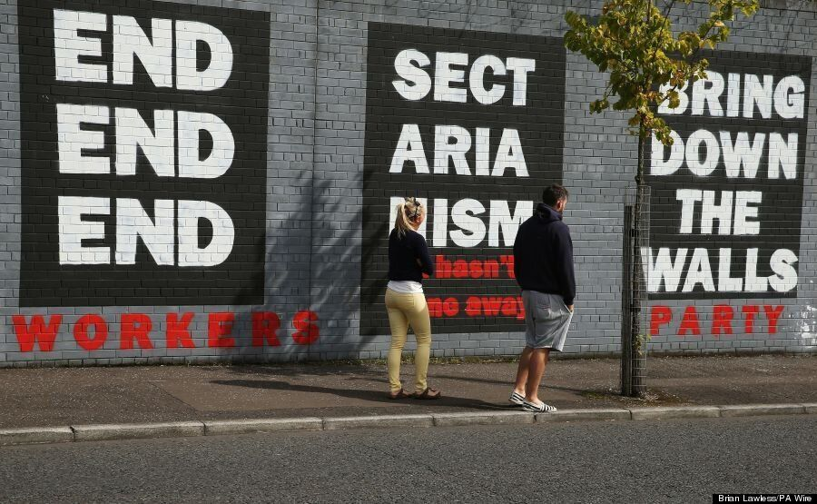 Why Northern Ireland's 'Peace Walls' Show No Signs Of Following Berlin's