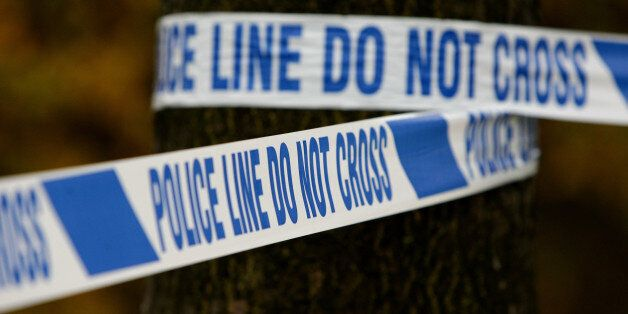 File photo dated 18/11/11 of some police tape at a crime scene, as crimes against adults in the year...