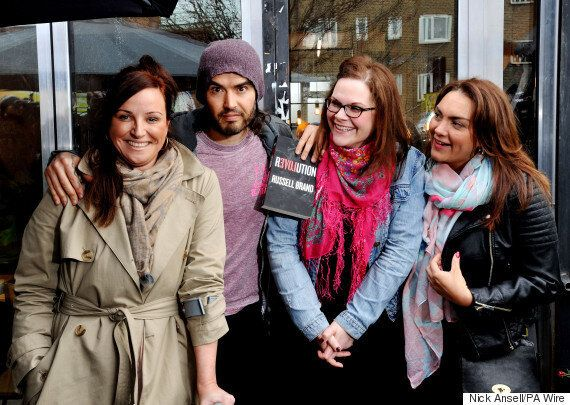 Russell Brand's Trew Era Café Is Turning Around The Lives Of Recovering Drug