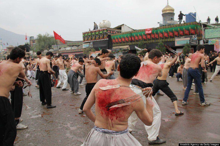 Ashura 2014: Shiite Muslims Commemorate Islamic Date With Mass Flagellation