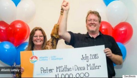 Peter McCathie Wins Lottery After Being Struck By