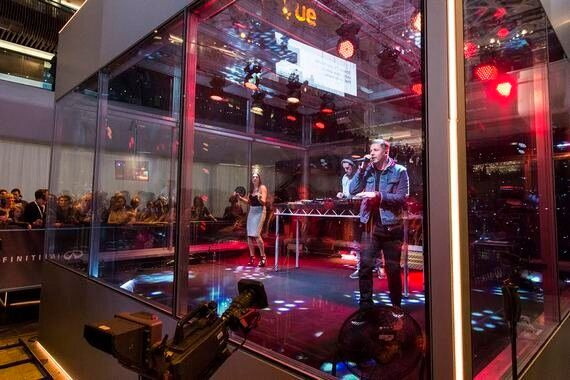 Professor Green Closes Music Cube at Westfield Stratford :