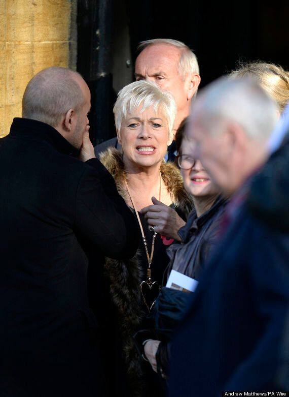Lynda Bellingham Funeral: Denise Welch Reads Out Touching Self-Penned Ode To Former 'Loose Women'