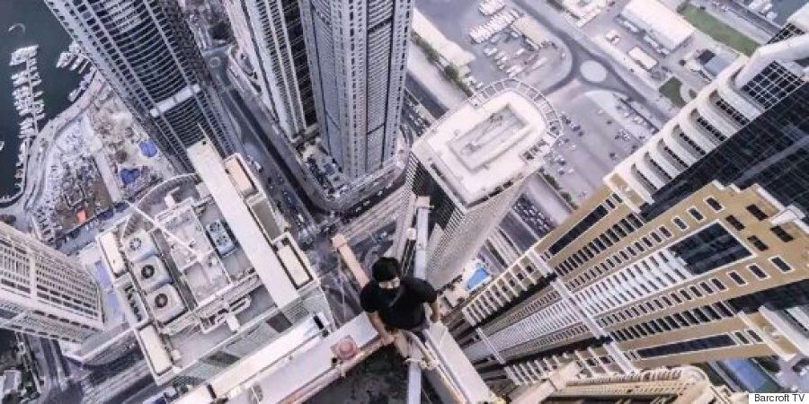Dubai Rooftoppers Climb Marina 101, Soon To Be World's Tallest Residential