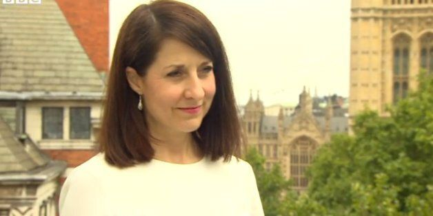 Liz Kendall on the BBC this