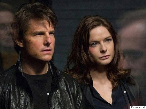 Rebecca Ferguson And Tom Cruise Go Behind The Scenes Of 'Mission: Impossible - Rogue Nation' In Exclusive