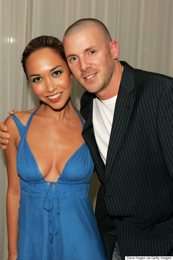 Myleene Klass Has Her Own Unique Take On Chef's Whites (That'll Be A Cut-Out