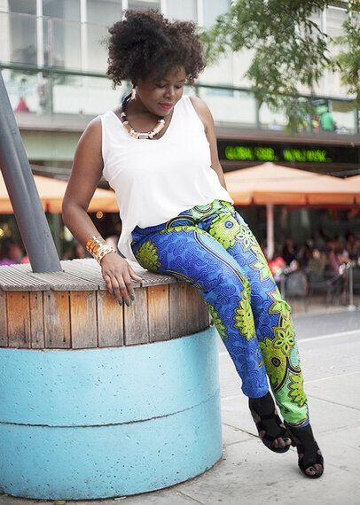 Linda Idegwu's Plus-Size Brand 'Dear Curves' Brings African Fashion Into the Western