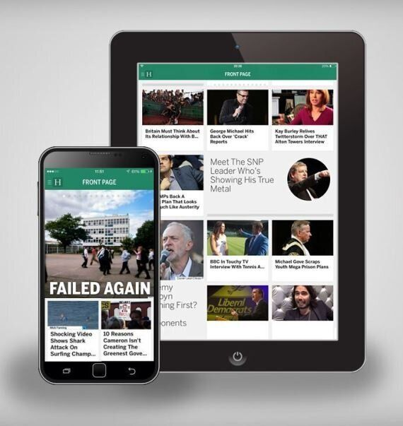 The Huffington Post App For Mobile And Tablet Available On iOS And