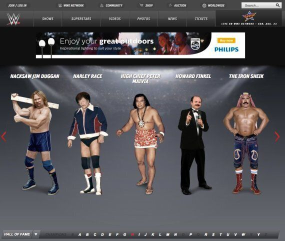 Hulk Hogan Removed From WWE Website After 'Racial Slur'