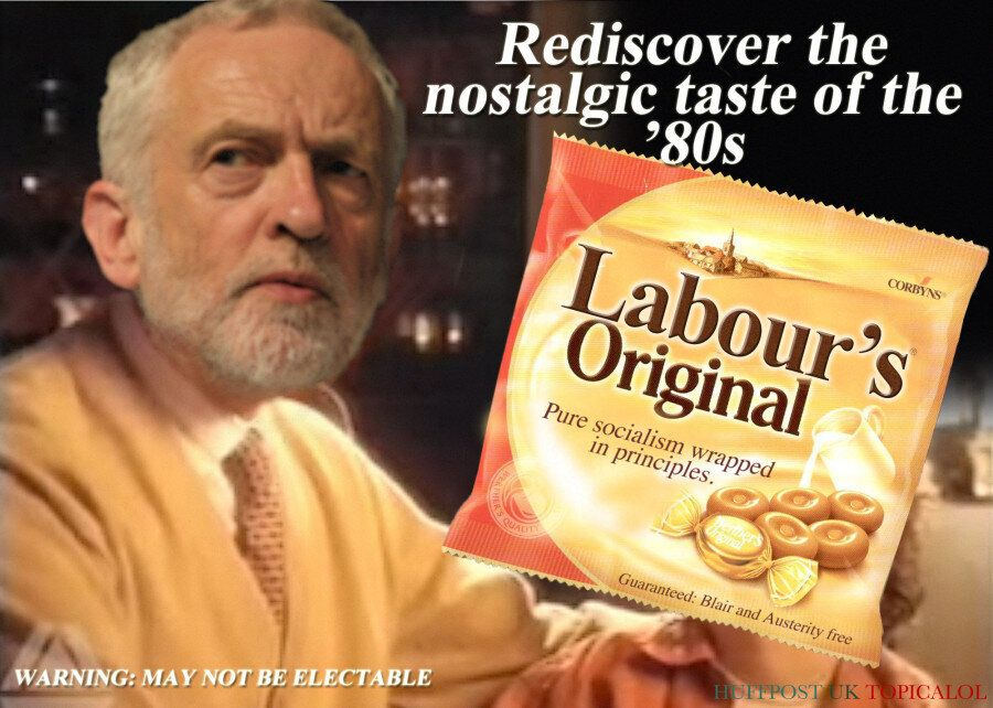 Jeremy Corbyn's Labour Originals Ad Takes Inspiration From A Classic