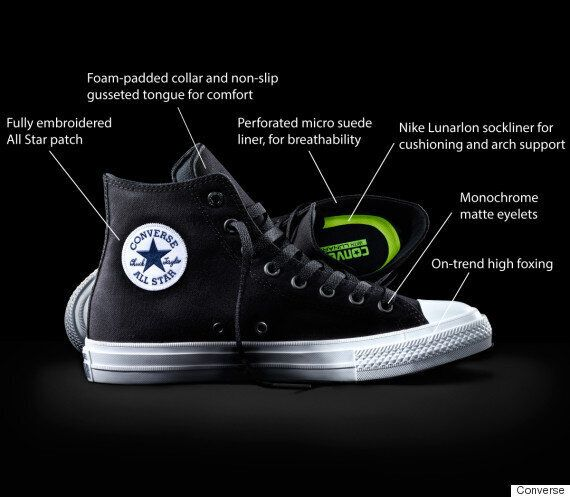 Anguila Novia Ortografía  Trainer Porn: Converse All Stars Chuck Taylors Get A (Comfy) Redesign 98  Years On | HuffPost UK