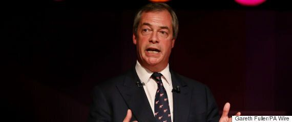 Nigel Farage Is Back As Ukip Leader, And Twitter Is In