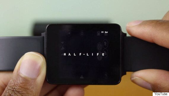 Half-Life Running On An Android Smartwatch Is Stupidly Hard To