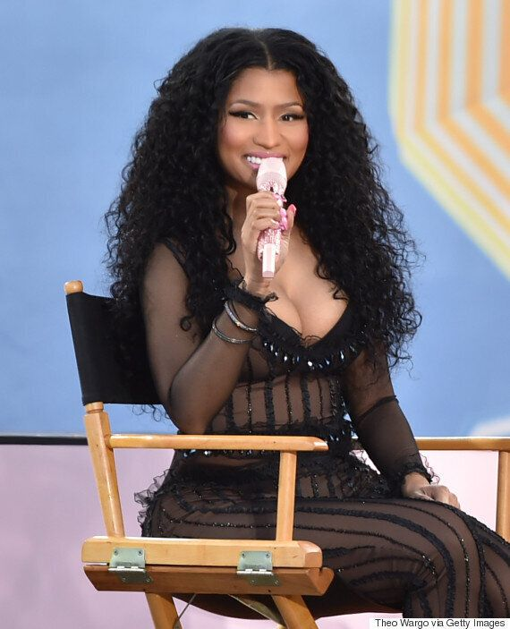 Nicki Minaj Addresses *That* Taylor Swift Twitter Spat On 'Good Morning